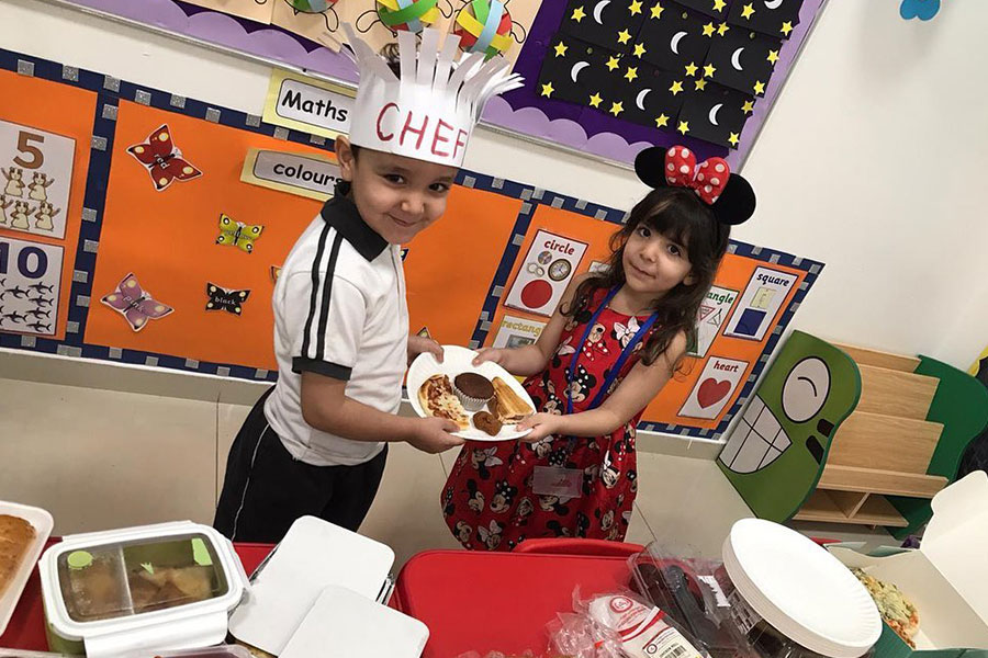 City School Celebrated International Food Day To Raise Awareness About Global Hunger Among Students.