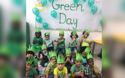 City School Celebrated Green Day In A Fun And Informative Way Where The Child Learnt About The Importance Of The Green