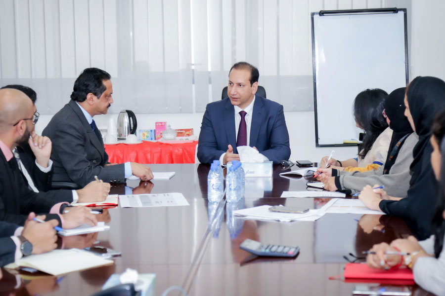 City School President, Mr. Imran Khan, And The Administration Team In Preparation For A Great Academic Year Ahead.